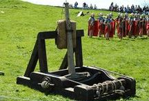 Onager - Onagro / Roman siege machine, the successor of the greek catapult