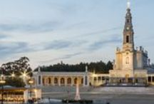 Santuário   Sanctuary Fatima / The Altar of the World. Attending the candle procession is a unique and unforgettable experience which will be remembered forever. #Fatima #Sanctuary #Portugal