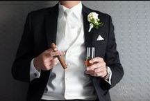 The Groom / We are captivated by the excitement of our Grooms and the handsome demeanor they exhibit. Enjoy! XO, 2 Rings & A Dress