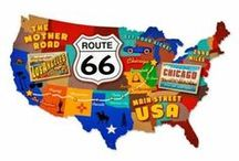 Route 66 / Get your kicks on Route 66....the Mother Road! / by Sandi Seashell