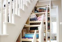 Storage, Closets and Organization / Live in a small space? Have too much stuff? Lack of storage is a common complaint. Make the most of why you've got with these storage and organization tips.  / by Scott McGillivray