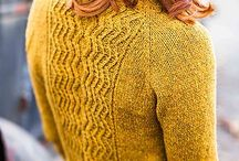 Knitting: cardigans and pullovers