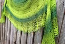 Knitting: shawls and scarfs