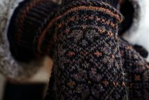 Knitting: socks, hats and mittens