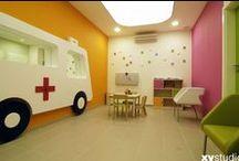 poradnia dla dzieci CMD / Centrum Medyczne Damiana Warszawa ul. Wałbrzyska 46 projekt wnętrz xystudio 2012