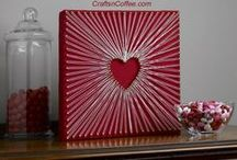 Valentine's Day Projects for Mom / When you're the only man in a house full of women Valentine's Day craft projects are a big deal. So my oldest daughter Myah and I are on the hunt to find the perfect gift to give  to Mommy on Valentine's Day. / by Scott McGillivray