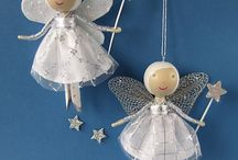 Angels, Gnomes, Elves & Clothespins! / by Kerryn Mabin