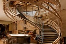 Stairs and railings / interesting timber staircases or details