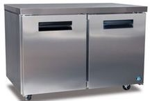Commercial freezers / Commercial undercounter and standup freezers.  Great for any business from restaurants to bars, grocers and even residential