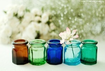 Colorful jars & vases / Color your home with these items