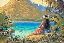 Adventures in Paradise / Polynesia - Hawaii, Tahiti, Fiji and Samoa / by Ruby Chacon