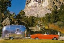 "Vintage Airstream / Like baseball and apple pie, Airstream is an American classic.  See how The ""Silver Bullet"" has captured the heart of America and the world through the years.  / by Airstream2Go"