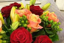 Arrangements by our skilled florists / A selection of stunning creations by the clever staff at The Flower Shop