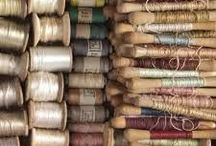 Threads / Beautiful threads used in stitching and other kinds of making