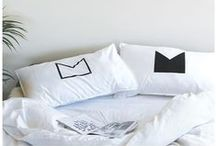 Pillowcases. / Organic Cotton Pillowcases made in Sydney by Jennifer + Smith
