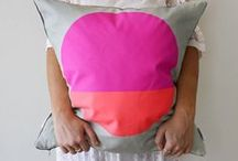 Cushion Selfies. / Cushions made in Sydney by Jennifer + Smith