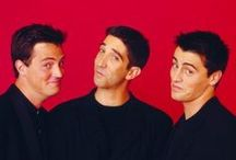 The Guys are |SEXY| / Chandler Bing, Ross Geller and Joey Tribbiani ~ The 3 guys that are just hilarious together!