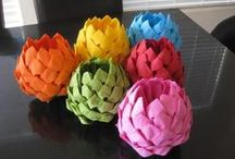 Paper / Origami, paper wrap....