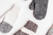 вязание. митенки, перчатки