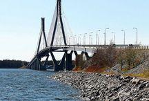 Siltoja yli esteiden / Bridges