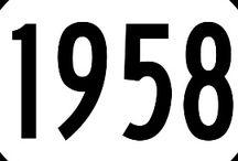 1958 - zajímavosti / Zajímavé informace, vztahující se k roku 1958