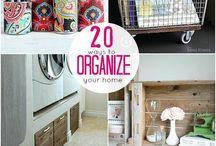 Home organization / by Mario/Tab Miranda