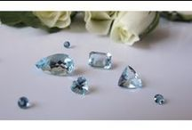 Aquamarine / Part of the beryl family and closely related to emeralds, the birthstone for March is the aquamarine. This alluring stone captures the fascinating blue  colour of the oceans and is an irresistible temptation to those who adore and admire beauty!   Gemstones Brazil aquamarine shop: http://gemstonesbrazil.com/our-gemstones/aquamarine-stone-precious-gemstone-gem