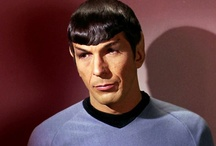 to boldly go / ( everything star trek tos but mostly mister spock )