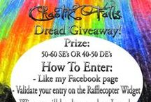 Dread Giveaways / A board for all my Giveaways! :)
