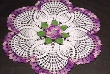 Doilies & Thread Crochet / Doilies & doily like items, mostly worked in Sz 10, but no larger than #3. Can't work the 20's & 30's any more, but grateful for what I can do. If you think you can't, try anyway. 50 yrs ago, I didn't think I could either, but practice makes perfect. Start with an easy one & don't be hard on yourself. You just might create an heirloom! :) / by Pam Young