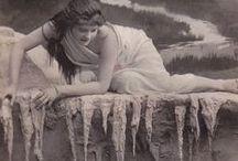 Edwardian Film / Vintage photos. Actresses. Poses.  / by Anke Metzger