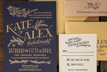 Invites/ Cards / A fine range of various invites and greeting cards