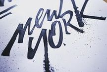 Hand lettering / Hand scribed lettering at its finest