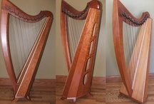 Bird on a Harp / Collection of beautiful and unique harps (and other instruments, occasionally), that I find on the web; including a few of my own lovely folk harps. / by Mei Leslie