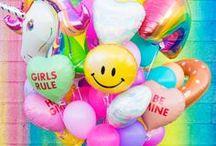 FOLIENBALLONS / Shiny, happy Ballons aus Folie. Lange Schwebedauer und tausend Ideen!