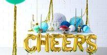 SILVESTER DEKORATION / Inspiration für den Jahreswechsel - HAPPY NEW YEAR!