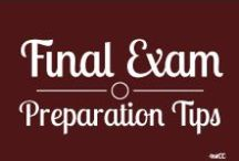 Final Exam Preparation Tips / Try these tips and try to reduce your stress during the exams.