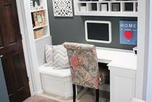 Ideas for home offices & craft work
