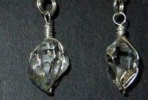 Herkimer Diamonds and other Crystal Jewelry / Herkimer Diamonds are fun and elegant quartz crystal jewelry.