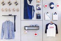 Ruha bolt design / Ruha bolt berendezések, kirakatok