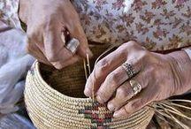 Makrama, baskets, paracord, weaving