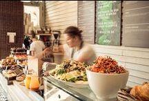 Gasztro üzlethelyiség berendzések, dekorációk / Éttermek, kávézók, üzletberendezés