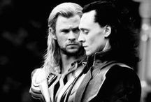 Thor and Loki. Well mostly Loki! ♥