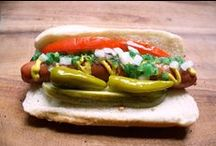 The Hot Dog and Encased Meat of the World / We love Chicago and its amazing history and culture! To best honor this, the first Foodseum temporary exhibit will feature 'The Hot Dog and Encased Meat of the World.' Did you know Chicago has more hot dog stands than any other city in the world?!