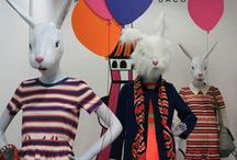 Húsvéti üzletdekoráció / húsvéti kirakat és display ötletek