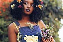 Cheveux naturels (crépus, frisés...) / black beauty & natural hair // beauté afro & cheveux naturels, crépus ou frisés ou tressés