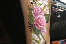 Grime Bloemen, Vlinders, Elfjes / Hoe maak je bovenstaande ontwerpen mooi... Hier vind je voorbeelden!!
