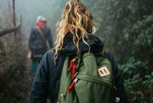 Fashion / military fashion, hiking fashion!  avoiding heels :)
