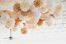 POMPOMS / Wunderschöne Dekorationen mit PomPoms aus Seidenpapier!