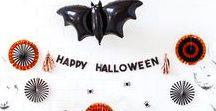 SPOOKY HALLOWEEN / Ideen für eine gruuuuuuselige Halloween Party!